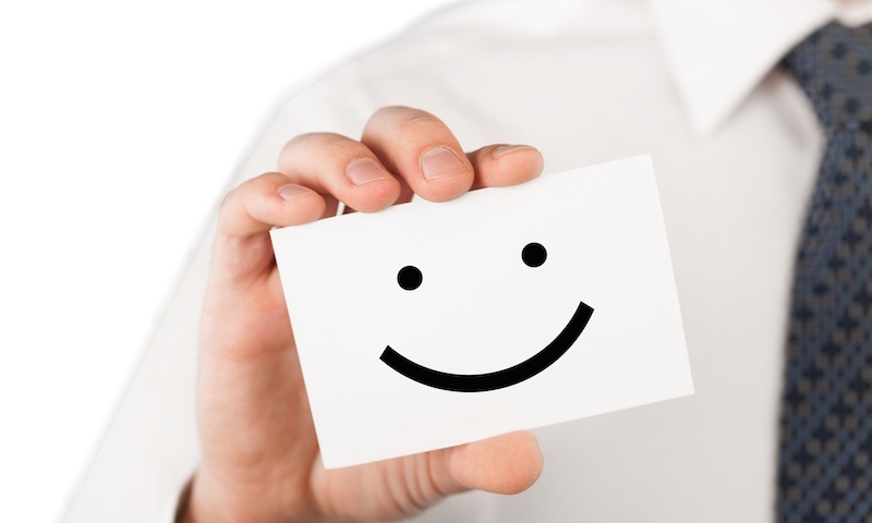 Your logo helps make your customers happy.