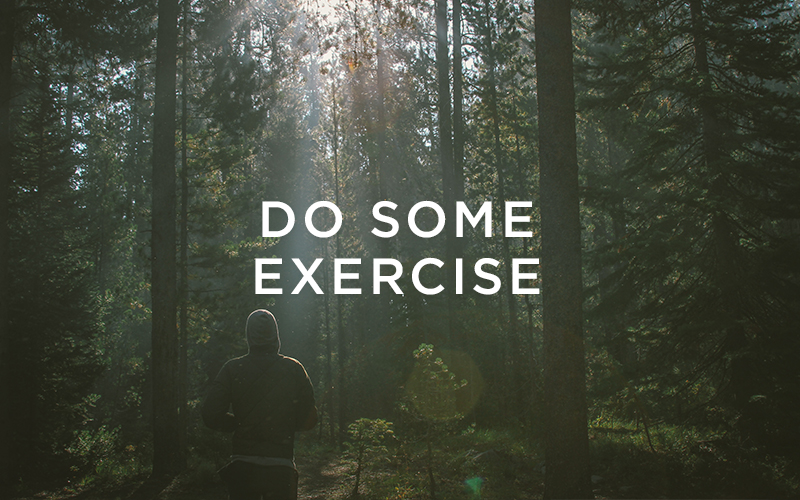 Creativity routine 5: Do some exercise