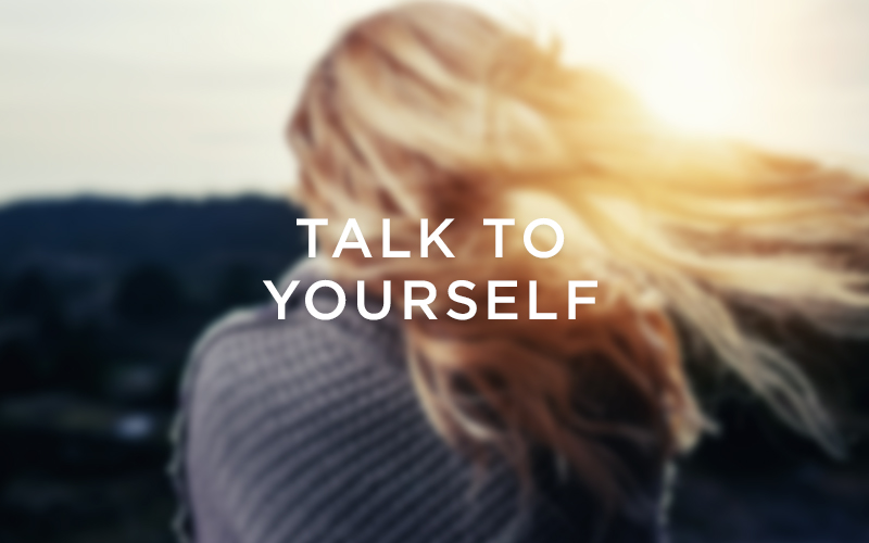 Creativity routine 4: Talk to yourself