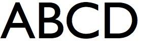 basic typography - humanist