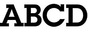 basic typography - modern