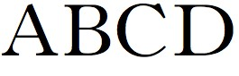 basic typograhy - old style