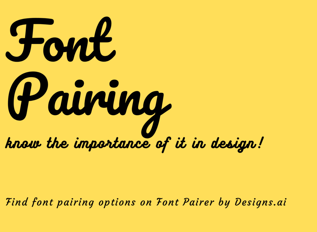 designs.ai, fontpairer, fonts, colors