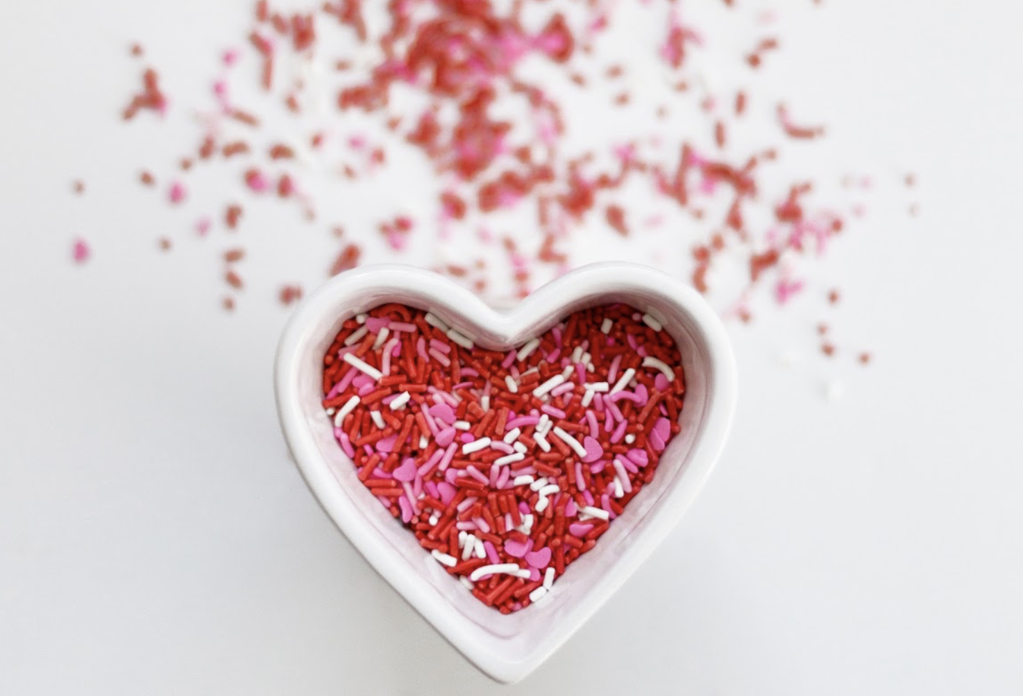 Sprinkle with love.