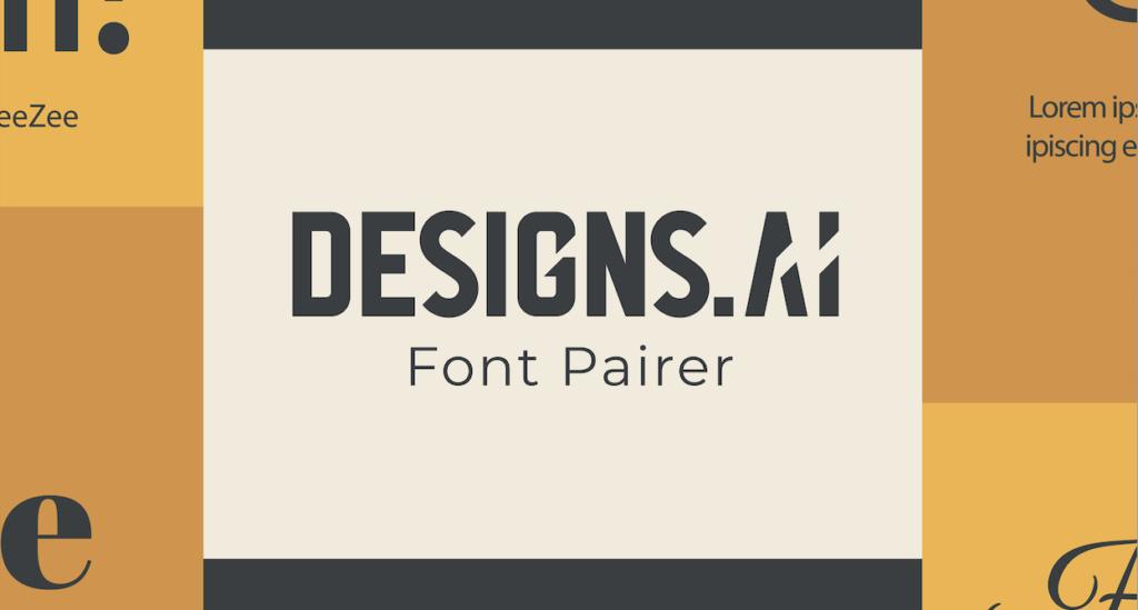 Designs.ai Font Pairer