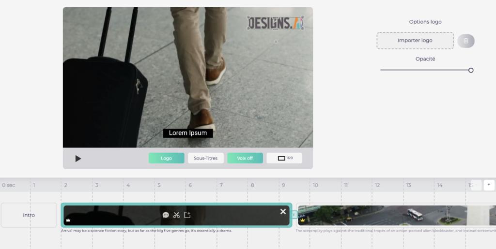 Designs.ai Videomaker - … Intégrez-le dans vos vidéos au sein de la plateforme et votre contenu de marque est terminé!