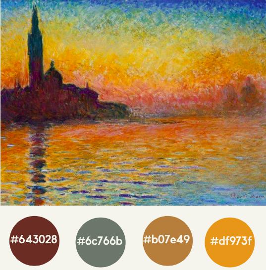 Designs.ai - Color inspiration 6: Vibrant sunsets, bold twilights