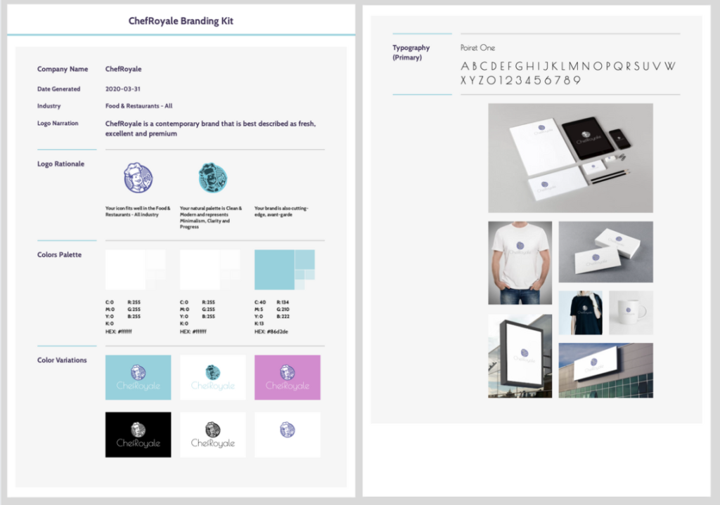 Tips to create a good corporate identity that stands out - Create brand style guide