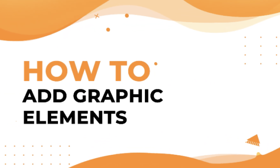 How to add graphic elements in Designmaker?