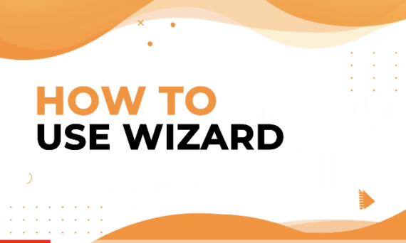 How to use Design Wizard to instantly generate designs?